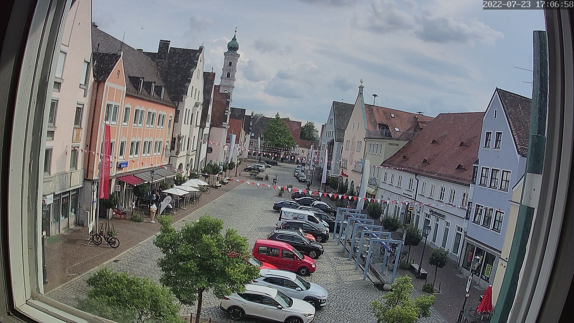 Aichach City Center, Stadtplatz